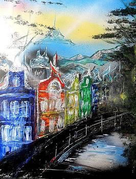 Amsterdam Dream by Evaldo Art