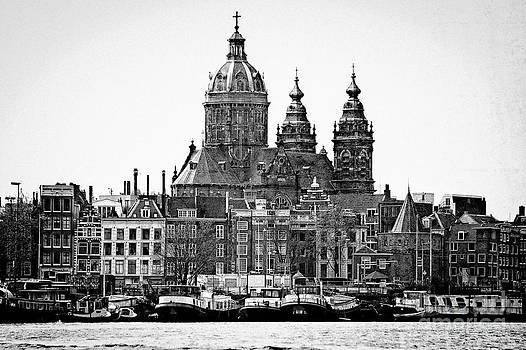 Amsterdam in Black and White by Jill Smith