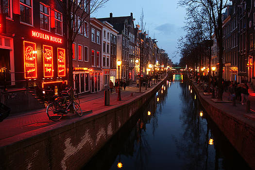 Amsterdam redlight district by Erik Tanghe