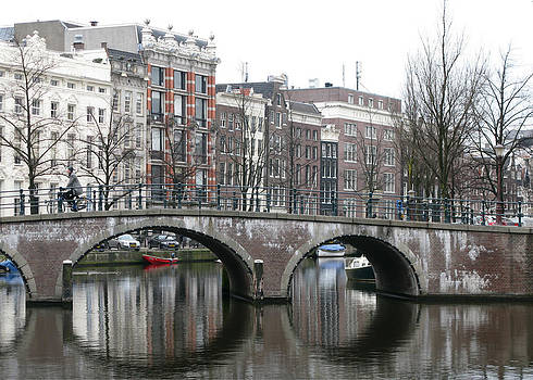 Amsterdam Reflections by Denise Rafkind