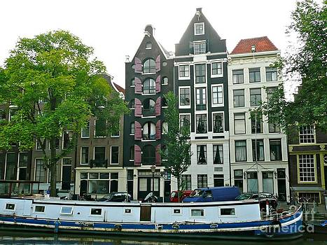 Amsterdam Slim Houses by Rachel Gagne