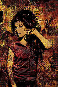 Amy Winehouse 24x36 MM Variant by Dancin Artworks