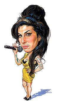 Amy Winehouse by Art