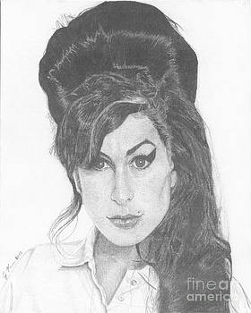 Amy Winehouse by Jeff Ridlen