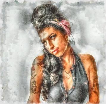 Amy Winehouse by Patrick OHare