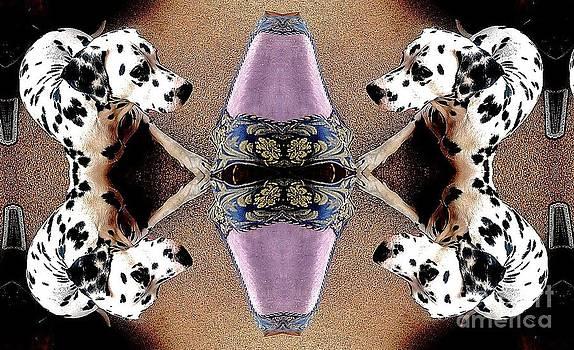An Abstract Dalmatian by Blair Stuart