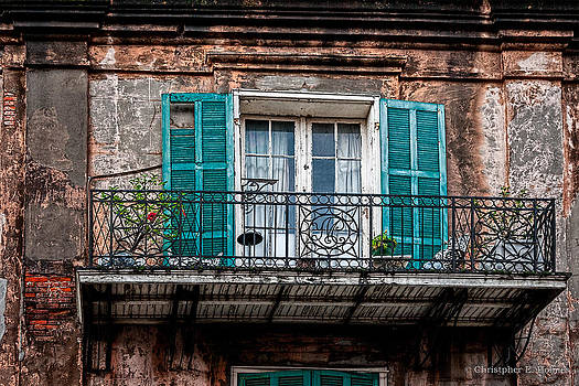 Christopher Holmes - An Aged Balcony