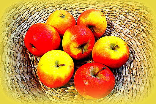 An apple a day... by The Creative Minds Art and Photography