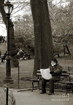 RicardMN Photography - An artist in Central Park