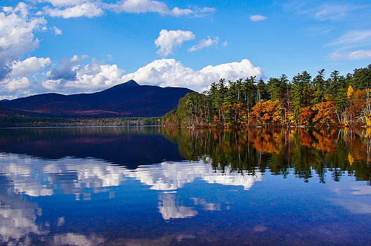 An Autumn evening on Lake Chocorua by RockyBranch Dreams
