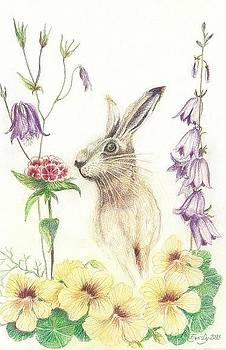 An Easter Rabbit by Eve-Ly Villberg