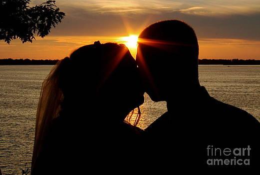 An Erie Wedding Sunset by Jay Nodianos