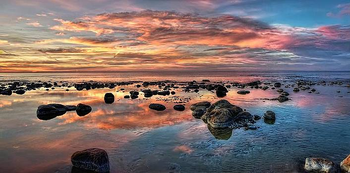 An evening at the beach by Jeff S PhotoArt