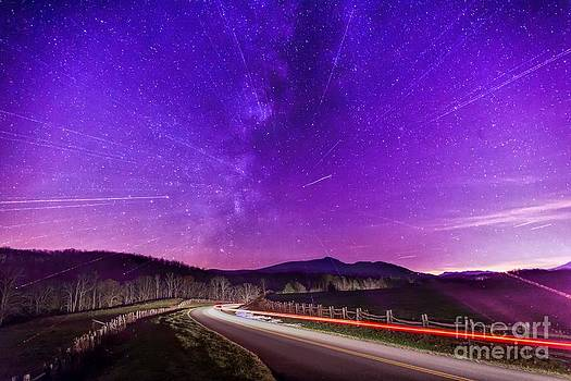 An Explosion in The Milky Way by Robert Loe