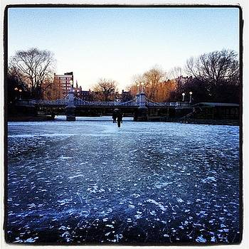 An Icy Winter. #winter #boston #water by J Amadei