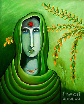 An Indian Woman Proud of Her Country by Divya Kakkar