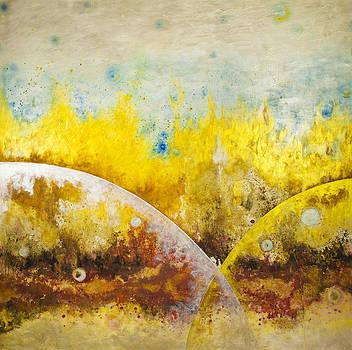 An Interior Landscape The Fire by Teresa Carter