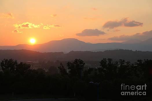 An Oak Ridge Sunset by Jay Nodianos