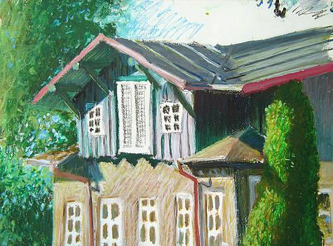 An old house by Misha Lapitskiy