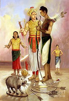An Ordeal At Hastinapura by Anup Roy