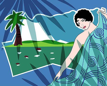Nancy Lorene - ANACAPRI in Blue and Green