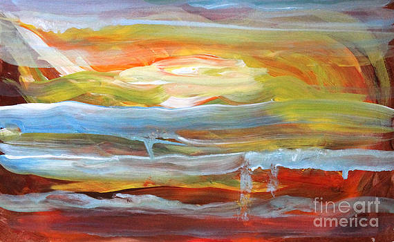 Anarchist Sunset  by Anne Cameron Cutri