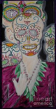 Ancestral Layers Our Catrina Guardians by B Melusine Mihaltses