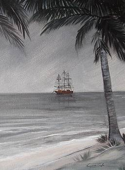 Anchored For The Night by Virginia Coyle