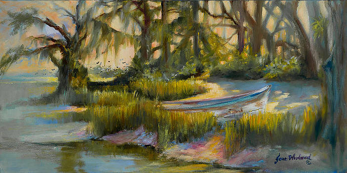 Anchored in the Marsh by Jane Woodward