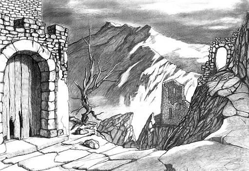 Ancient Castle by Vladimir Matov