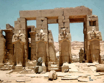 Ancient Egypt by Piero Lucia
