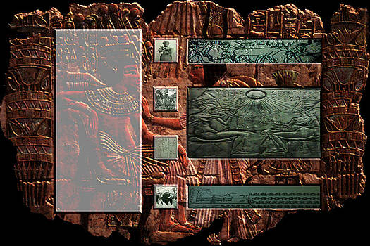 Museum Quality Prints -  Trademark Art Designs - Ancient Egyptian Art