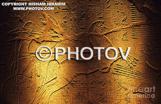 Ancient Egyptian Carving - Luxor - Egypt by Hisham Ibrahim