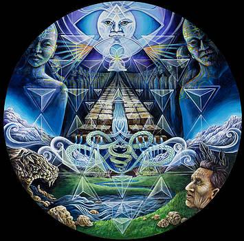 Ancient Initiation  by Morgan Mandala Manley