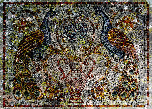 Ancient mosaic by Milan Pilipovic