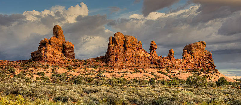 Ancient Rock Formations by Stephen  Johnson