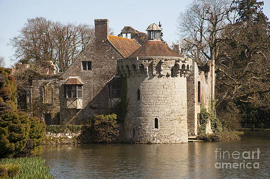 Ancient Scotney Castle by Donald Davis