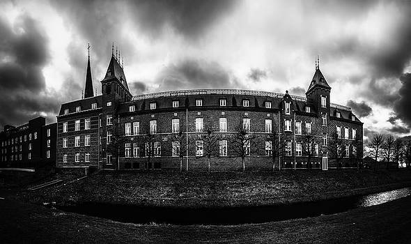 Ancient Sittard In Black And White by Libor Bednarik