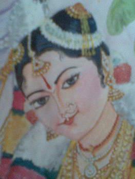 Andal closeup by Parimala Devi Namasivayam