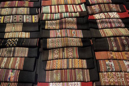 James Brunker - Andean textile market