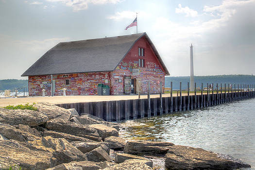 Anderson Dock in Summer by Kathy Weigman