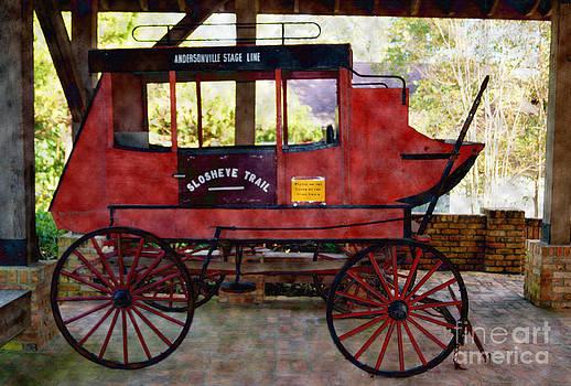 Andersonville Stage Line Slosheye Trail by Kim Pate