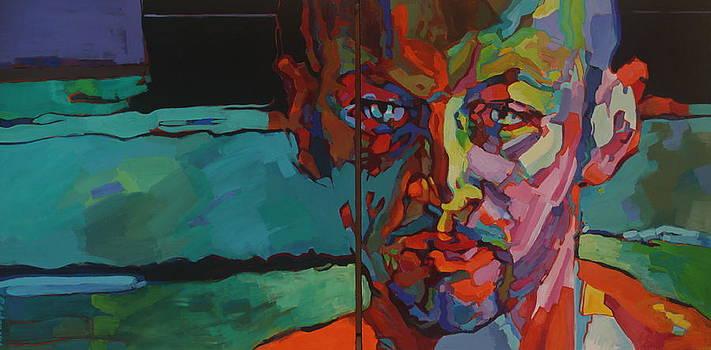 Andrzej - portrait  by Piotr Antonow
