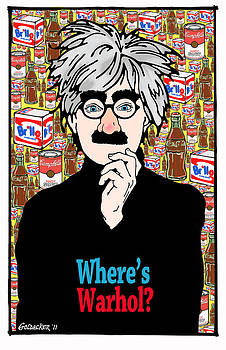 Andy Warhol by John Goldacker