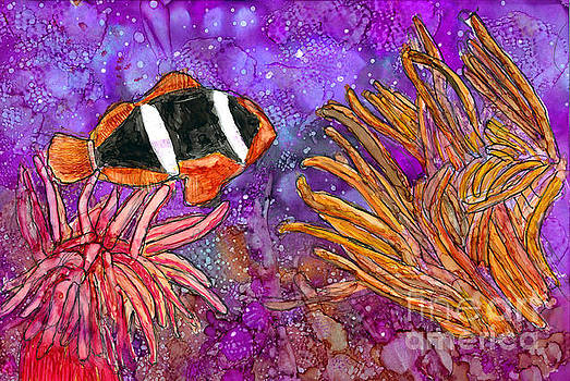 Anemone Fish by Alene Sirott-Cope