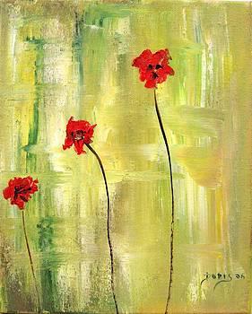 Anemons by Doris Cohen