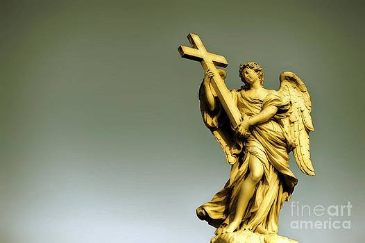 Angel and Roman Baroque by Stefano Senise