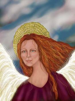 Angel and Sky by Linda Marcille