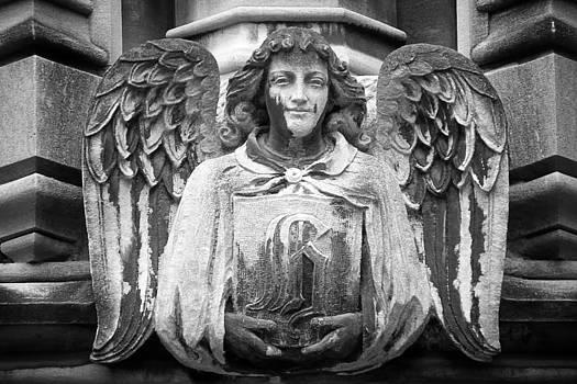 Angel Gargoyle University of Chicago by Joseph Duba