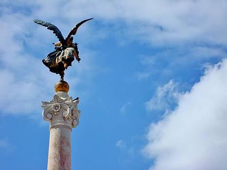 Angel in flight  by Natalya Karavay